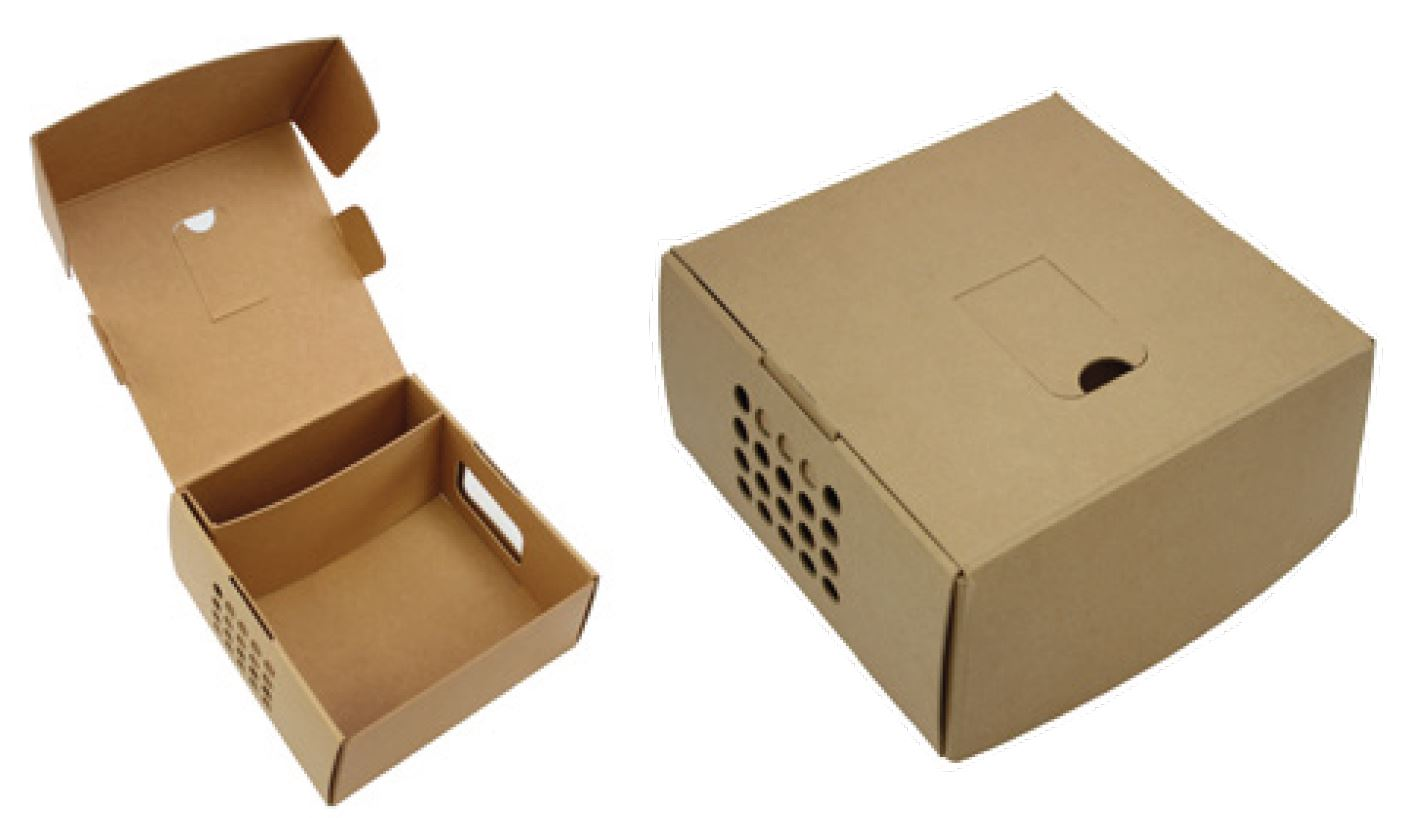 Transport box for animals with separate space for medical machines